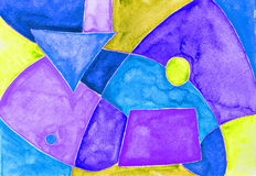 Geometric abstraction. Royalty Free Stock Image