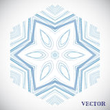 Geometric arabic pattern Stock Photography