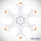 Geometric arabic pattern Stock Image