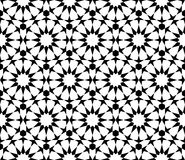 Geometric arabic seamless pattern. Islamic pattern. Arabesque Star Pattern. The template for the construction of the ornament. Vector 10 EPS Stock Illustration