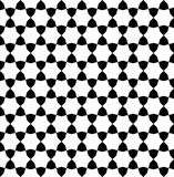 Geometric arabic seamless pattern. Royalty Free Stock Photography