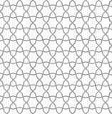 Geometric arabic seamless pattern. Islamic pattern. Geometric motifs. Geometric arabic seamless pattern. The template for the construction of the ornament royalty free illustration