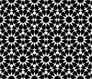 Geometric arabic seamless pattern. Islamic geometric print. Arabesque Star Pattern. Traditional decoration of oriental culture. Vector 10 EPS Stock Image