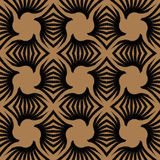 Geometric art deco vintage pattern Royalty Free Stock Photos