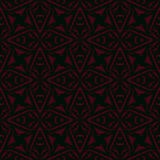 Geometric art deco vintage pattern. Geometric art deco pattern with triangular shapes and rotating elements. Texture background for web, print, textile, wrapping Stock Illustration
