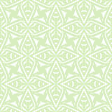 Geometric art deco vintage pattern in white Stock Photos