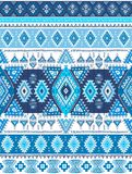 Geometric aztec pattern. Tribal tattoo style can be used for textile, yoga mats, phone cases, rug Stock Images