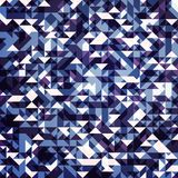 Geometric background. Abstract geometric background with triangles Royalty Free Illustration