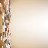 Geometric background, abstract hexagonal pattern Stock Images