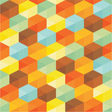 Geometric Background - Abstract Seamless Pattern Royalty Free Stock Image