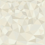 Geometric background. Beige Geometric abstract background illustration Stock Photography