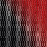 Geometric background with metal mesh. royalty free illustration