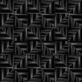 Geometric background of black triangles. The pattern of triangles. Abstract geometric pattern of lines with sloppy edge Stock Photography