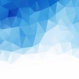 Geometric background. Blue. Vector Illustration Royalty Free Stock Image