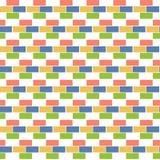 Geometric background  bricks. seamless pattern Royalty Free Stock Photos