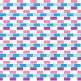 Geometric background  bricks. seamless pattern Royalty Free Stock Photography
