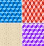 Geometric background. Bricks. vector illustration Royalty Free Stock Photos
