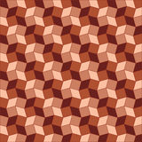 Geometric background of brown shades rhombus and square shapes. Abstract geometric background of  brown shades rhombus and square shapes Stock Images