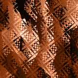 Geometric background brown tone royalty free stock photography