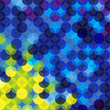 Geometric background. Circle geometric abstract background for You design stock illustration
