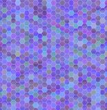Geometric background of colored hexagons Stock Photo