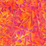 Geometric background of colored triangle Stock Photo