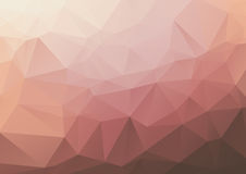 Geometric Background - Corals and Peaches. Abstract geometric background in coral and peach tones Royalty Free Stock Images