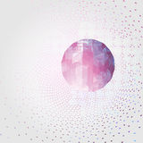 Geometric background. 3D Vector Stock Images