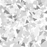 Geometric background from different triangles. Royalty Free Stock Photos
