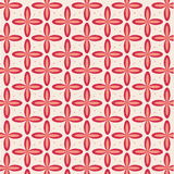 Geometric background with flowers Royalty Free Stock Images