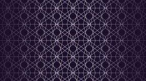 Geometric background. With gradient navy blue Stock Images