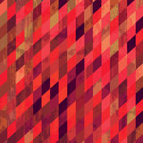 Geometric background. Grungy mosaic background in pink tones royalty free illustration