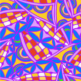 Geometric background of hand drawn patterns. Abstract background of geometrical patterns of drawing vector illustration