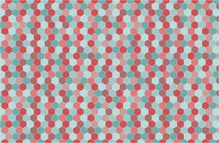 Geometric background in hipster style Royalty Free Stock Photo