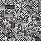 Geometric background, intertwined seamless pattern Royalty Free Stock Photography