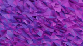 Geometric background made of sharp forms generative art, 3D rend. Geometric background made of sharp forms with trendy colors, generative art, polygonal. 3D Stock Photo