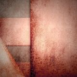 Geometric Background Modern Red Card Royalty Free Stock Photography