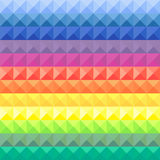 Geometric background, rainbow. Geometric background, vector illustration Royalty Free Stock Photo