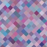 Geometric Background, Random Purple Diamonds. Seamless pattern Royalty Free Stock Images