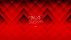 Red abstract background, Geometric vector, graphic, Minimal Texture, cover design, flyer template, banner, web page. Book cover stock illustration