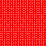 Geometric background. Red squares of different shapes. Vector stock illustration