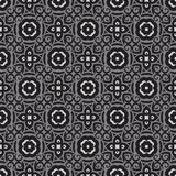 Geometric background - seamless vector pattern in gray colors. Decorative wallpaper pattern. Ornament mosaic structure Royalty Free Stock Photography