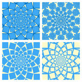 Geometric Background Set. Oriental Style. Vector Stock Photography