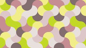 Geometric background in shades of lime punch stock illustration