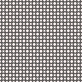 Geometric background, staggered rings & circles. Vector seamless pattern, black & white geometric background, staggered rings & circles. Simple abstract figures Vector Illustration