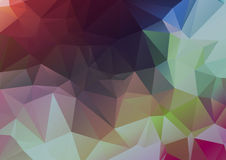 Geometric Background - Stained Glass Royalty Free Stock Images