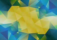 Geometric background with triangular polygons. Abstract design. Vector illustration. Geometric background with triangular polygons. Abstract design. Vector Stock Image