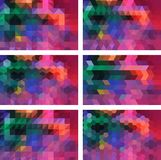 Geometric Background stock images