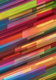 Geometric background in vibrant colors. Abstract vector illustration Stock Images