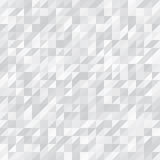 Geometric Background. White and Grey Triangles royalty free illustration